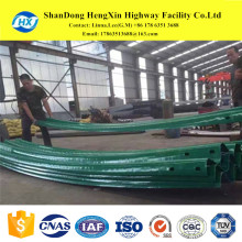 traffic facilities highway road safety crash barrier guardrail cambers for highway guardrail