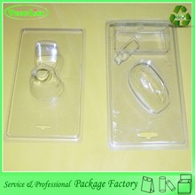 Newest high quality customized cheap plastic clamshell cup holder tray