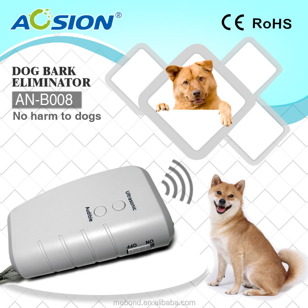 ultrasonic dog bark control with LED flashlight