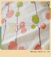 100% cotton reactive printed bedding fabric