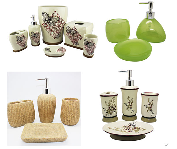 Ea0736 dog design cute bathroom accessories buy cute for Cute bath accessories