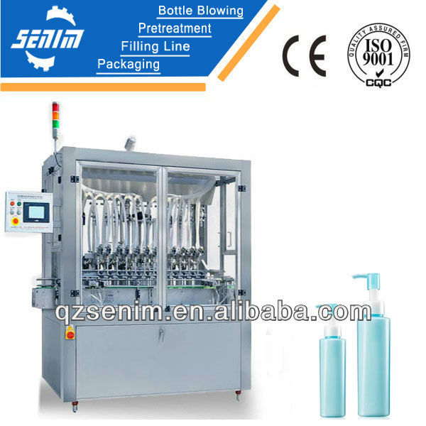 SM-LP Automatic shaving cream filling machine