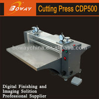 China No.1 Boway CDP500 automatic non mannual business card die cutting machine