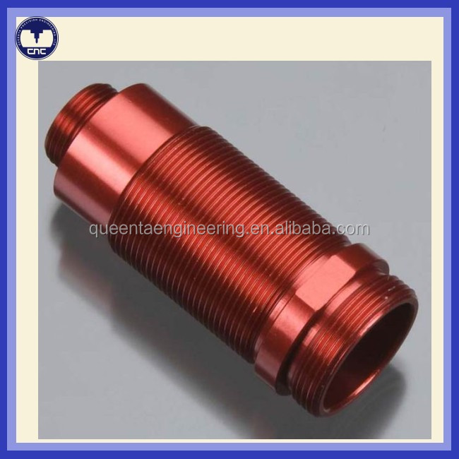 CNC manufacturing products aluminum metal cover case parts