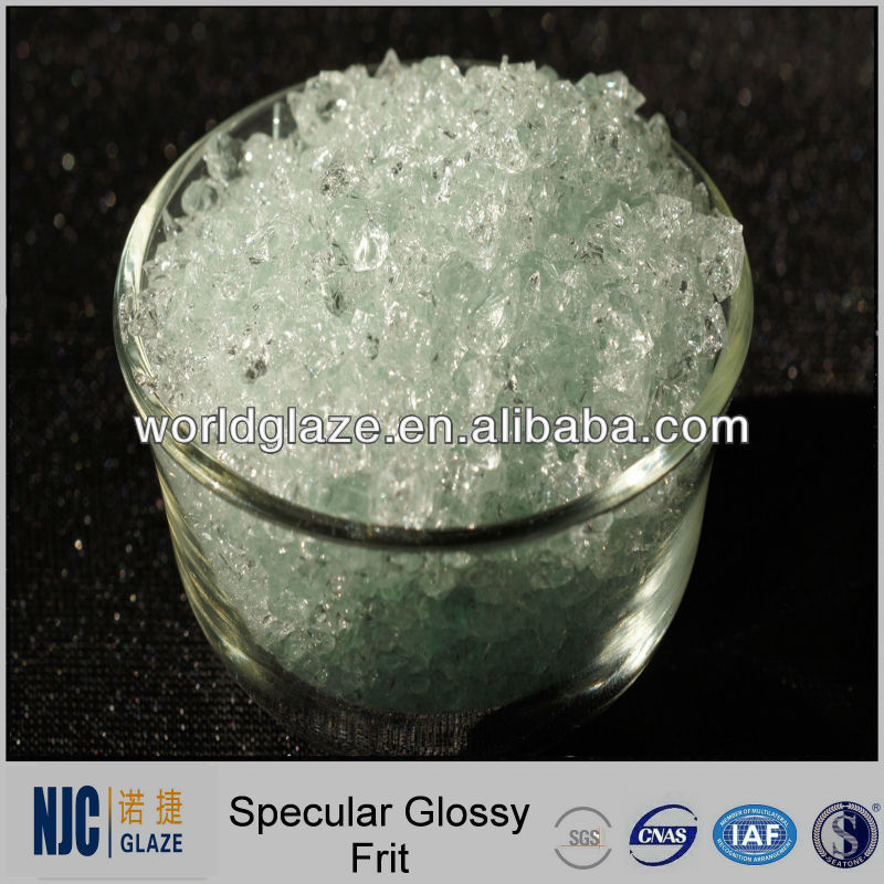 Ceramic Transparent Specular Glass Frit Glaze