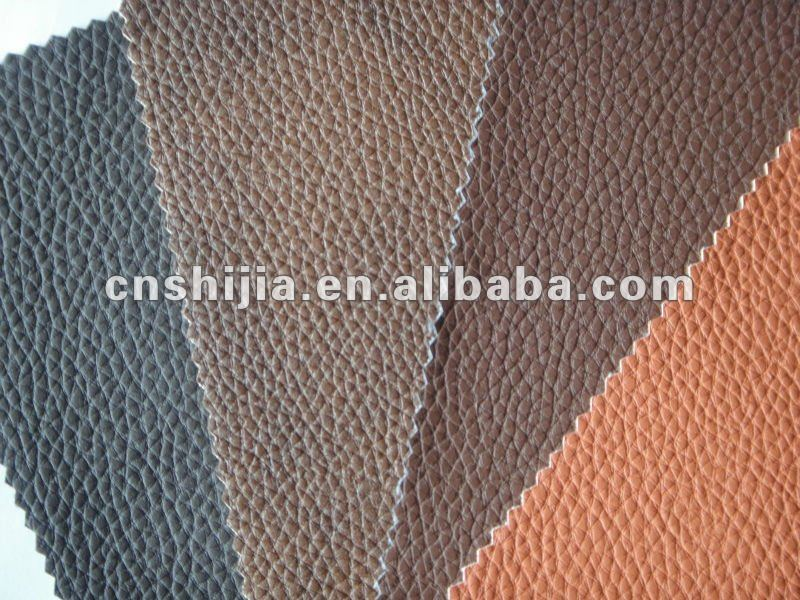 High quality PU leather for sofa-flame resistant quality BS5852