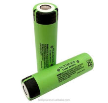 High capacity NCR18650B 18650 3400mah for Panasonic rechargeable NCR18650B 3400mah battery