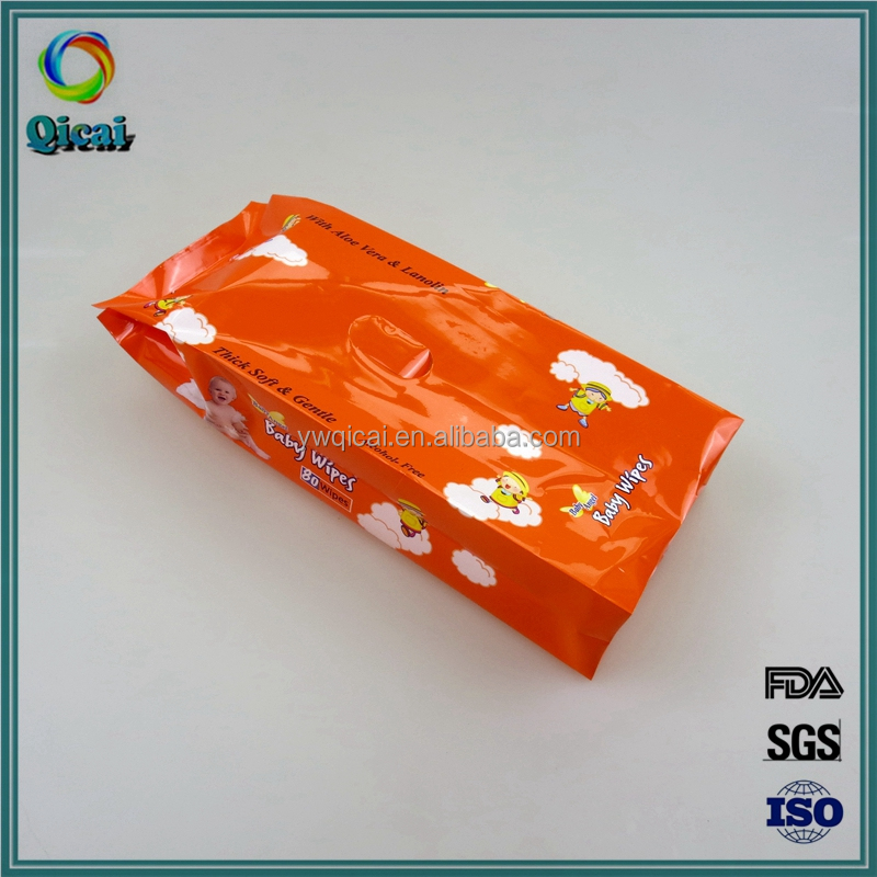 Hot sale best price plastic side gussets tissue paper pouch manufacturer