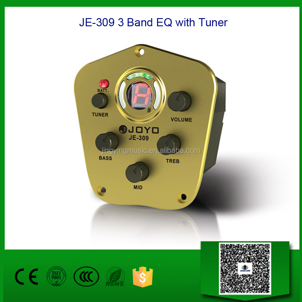JE-309 3 Band EQ with Tuner