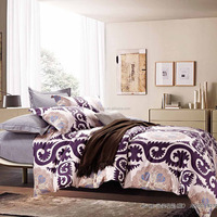 Middle east style printed duvet cover bedding set