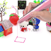 New 3D Printer Pen With 3 Color PLA Filament Magic Pen Maker Arts LIX for Student Gift 3D Printing Drawing Pen