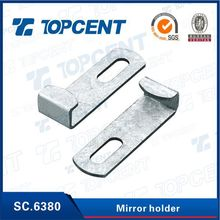 [SC.6380] Nickel car rearview glass panel mirror holder