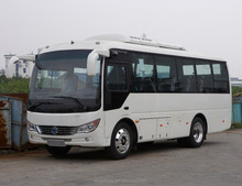 2017 Sunlong second hand bus SLK6750
