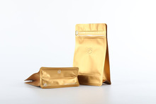 China manufacturing coffee bags with valve matt material aluminum foil coffee bag with ziplock