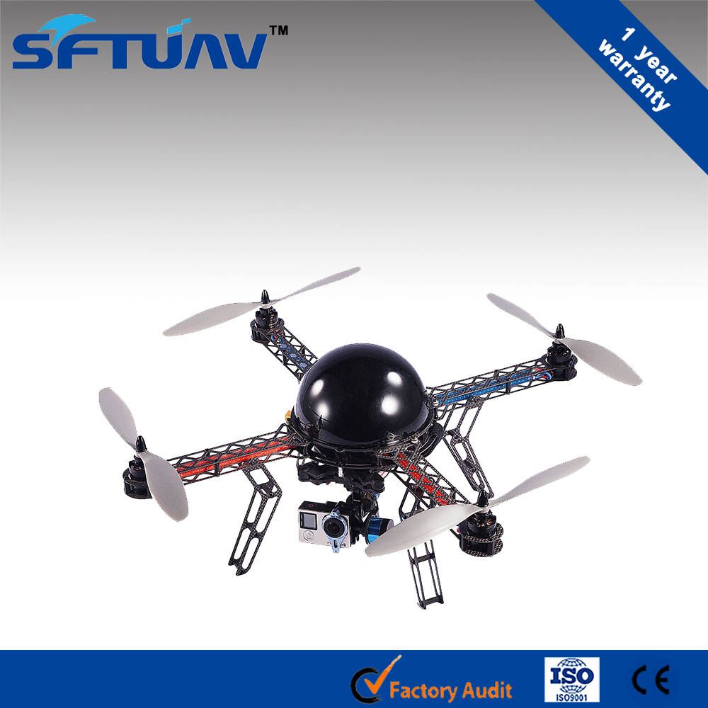 2.4G blue body 4-channel flight 6-axis commercial uav for sale