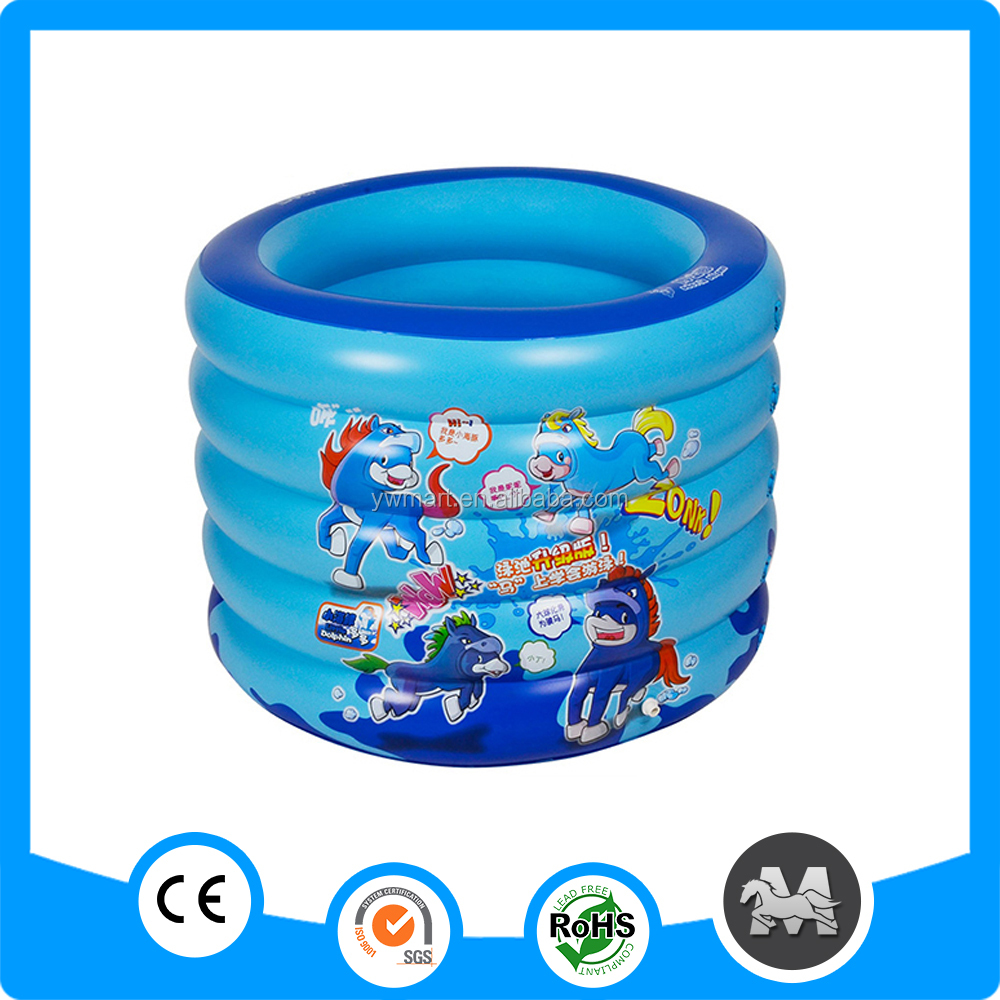 Indoor 5 ring pool pvc inflatable water pool