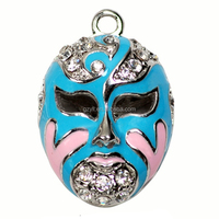 Beijing opera facial makeup design jewelry accessory /Fantasy China style accessory decoration