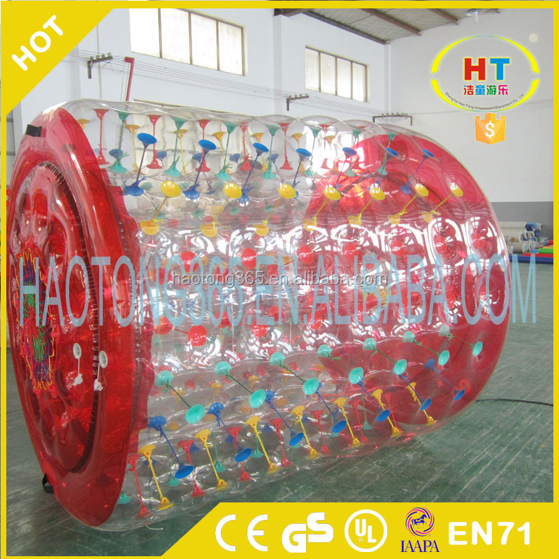 TPU 1.0mm cheap inflatable water roller ball price/human hamster ball for kids