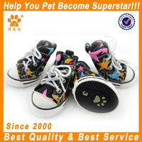 canvas dogs shoes sporty puppy boots little lovely dog accessories