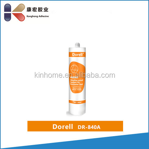 Neutral Weatherproofing Silicone Sealant DR840A for general purpose usages