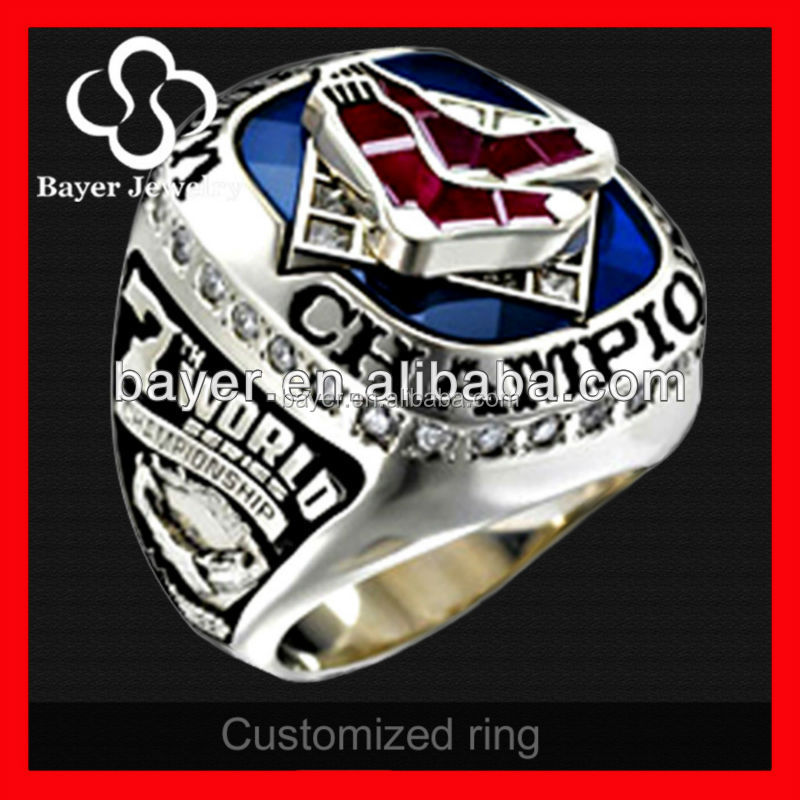 Fashion Cheap Stainless Steel MLB Red Sox 2007 World Series Ring