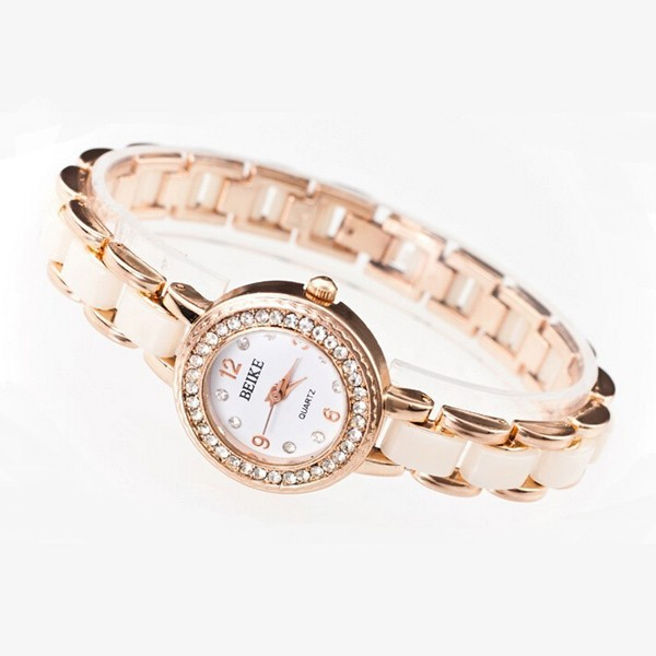 Hot selling wholesale gold watch women watch