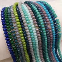loose chinese bracelet beads crystal beads wholesale decoration lampwork crystal glass bead for jewelry making
