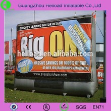 new product 2016 inflatable advertising billboard