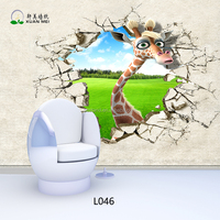 L046 XuanMei 3D Printing Mural Kids Room Wall Decorative Wallpaper