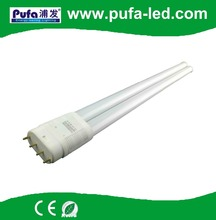 LED light fixtures 4pin 2g11 pll led tubes lightings with internal led driver