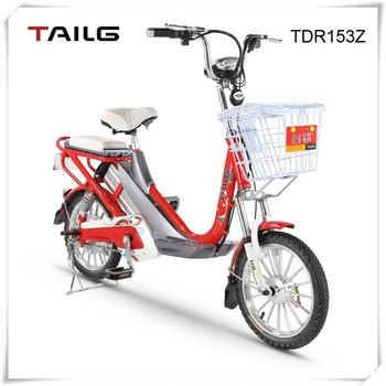 48v lithium battery pack electric bicycle china e bike for sales TDR153Z