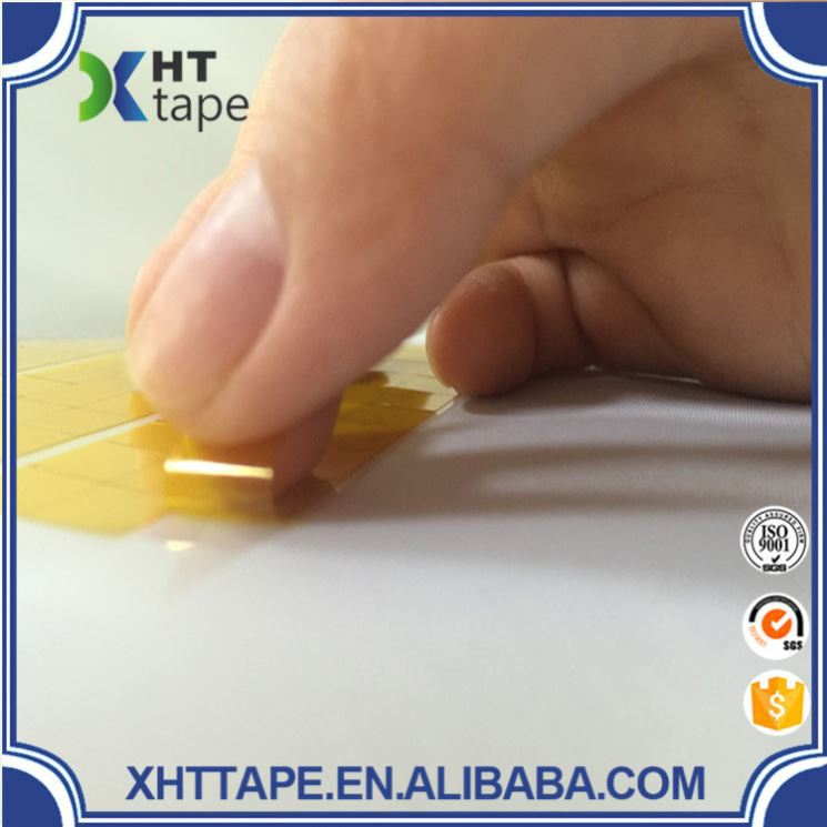 Best quality rubberized fabric tape dots cut pi tape