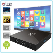 2gb ram 16gb rom s905x cpu X96 Android stb android 6.0 marshmallow tv box New Released digital cable tv set top box