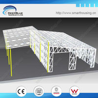 prefabricated steel structure warehouse shed