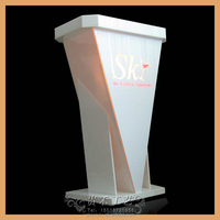 Special offered exqusite acrylic clear church podium