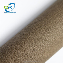 GR 17503 China factory low price bark grain for sofa furniture synthetic leather
