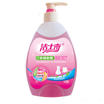 Laundry detergent agent for Anti-radiation fabrics