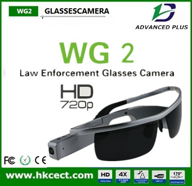 Original new DVR 720P Bluetooth Sunglasses camera with Bluetooth with 500mAh rechargeable Battery