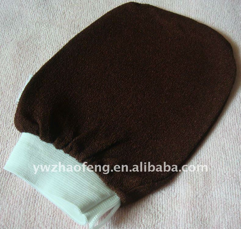 Most coarse hammam scrub mitt exfoliating bath glove