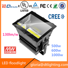 Quality Products IP65 high power outdoor football field 1000W led stadium flood light
