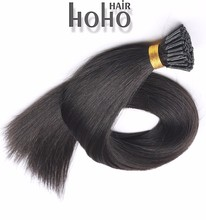 hot sell virgin remy hair stable quality ombre i tip hair extension for cheap