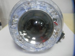 Manufacturer headlight with led ring for car