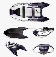 small aluminum inflatable boat