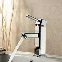 Highly quality water tap with polished chrome finishing basin sink water mixer tap