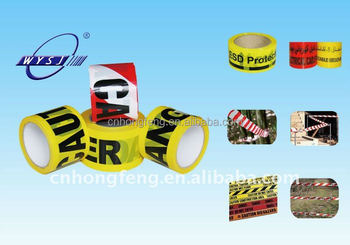 pe barrier warning tape with eco friendly