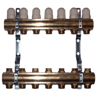 Brass Manifold For Floor Heating Manifold