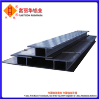 High Strength Aluminum Glass Frame Extrusion Profile for Curtain Wall