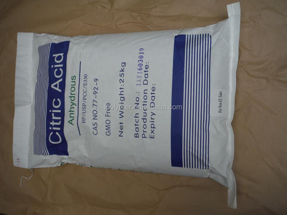 Citric Acid Mono / Anhydrous --- Competitve price with Good quality