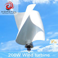 200w S type off-grid vertical axis wind turbine for street light
