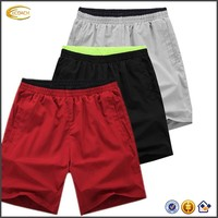 Ecoach Wholesale OEM Light Weight Gym Bodybuilding Workout Running Sport Shorts Elastic Waistband Swim Beach shorts for Man